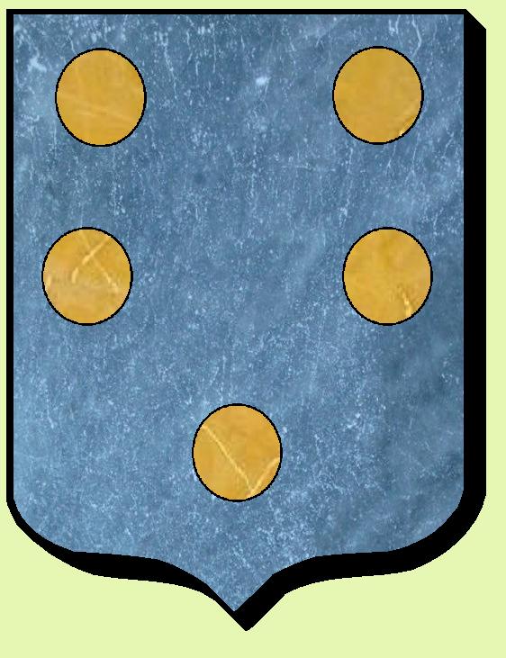 Armoiries et Blasons - Gast - Seigneurs de Lussault, d'Artigny, de Dehault - Marquis de Montgauger - Dehault - Vue 01 (Bruno Simon)