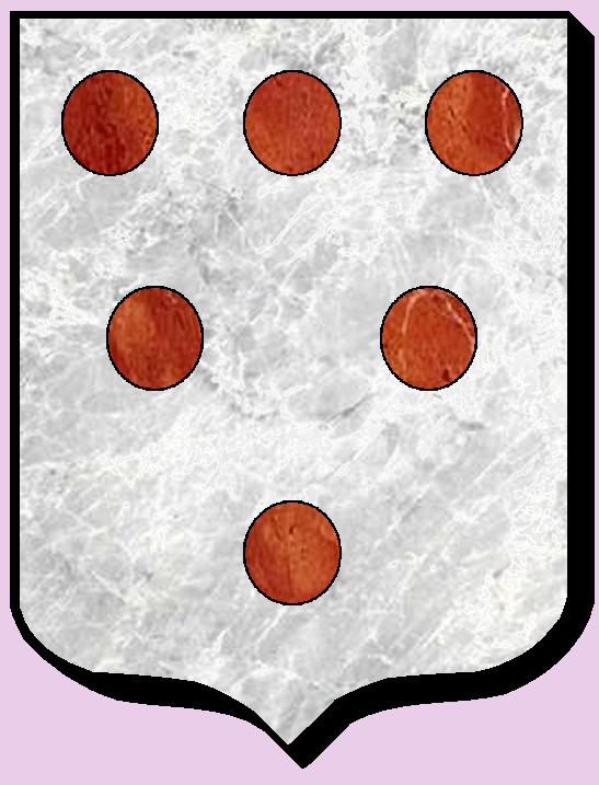 Armoiries et Blasons - Hardaz ou Hardas - Seigneurs de Linthe, de Courtilloles, d'Hauteville, de Houssemaigne, de Fresnay - Saint Rigomer des Bois - Vue 01 (Bruno Simon)