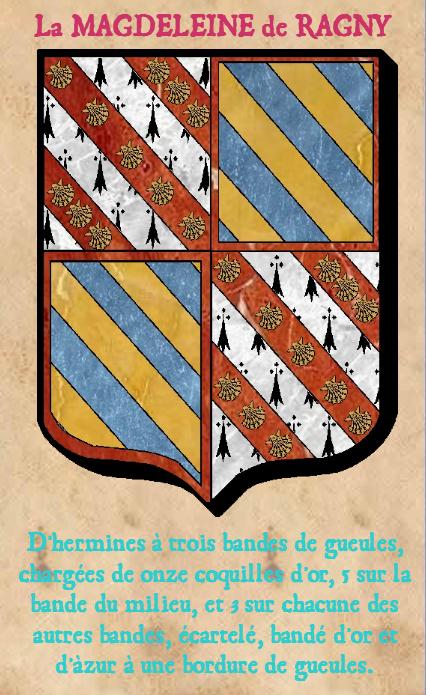 Armoiries et Blasons - La Magdeleine de Ragny - Saint Aignan - Vue 02 (Bruno Simon)