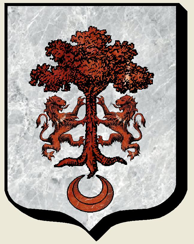Armoiries et Blasons - Renusson - Seigneurs d'Hauteville, du Mesnil, de Mortrie, de  Chevaigné - Vue 01 (Bruno Simon)