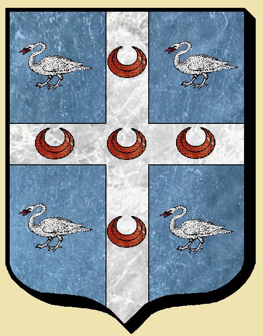 Armoiries et Blasons - Simon de Touffreville - Seigneurs de Touffreville, de Clère et de Rondelaire - Vue 01 (Bruno Simon)