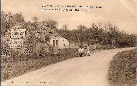 Circuit de la Sarthe 1906 - Entre Cherré et Sceaux sur Huisne