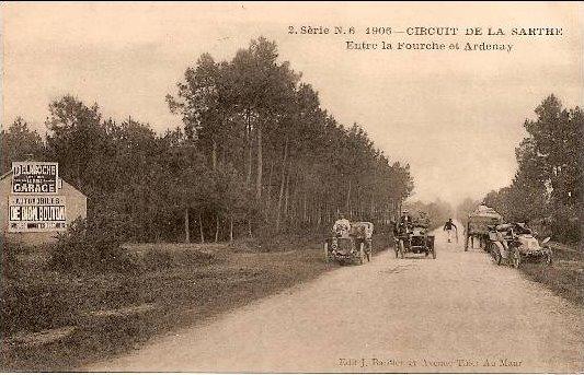 Circuit de la Sarthe 1906 - Entre la Fourche et Ardenay