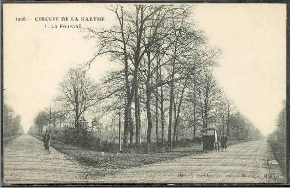 Circuit de la Sarthe 1906 - La Fourche