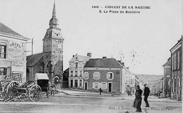 Circuit de la Sarthe 1906 - La Place de Bouloire