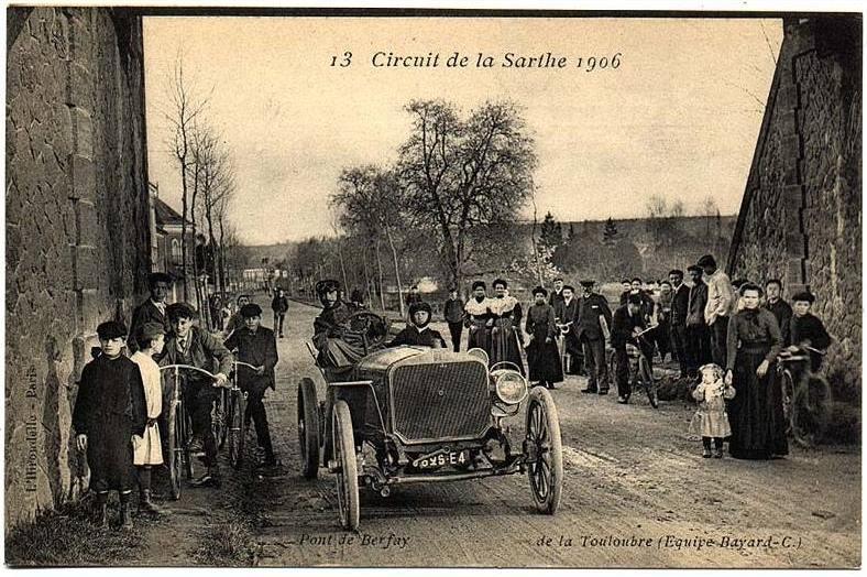 Circuit de la Sarthe 1906 - Pont de Berfay