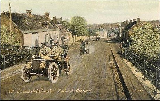 Circuit de la Sarthe - Sortie de Connerré