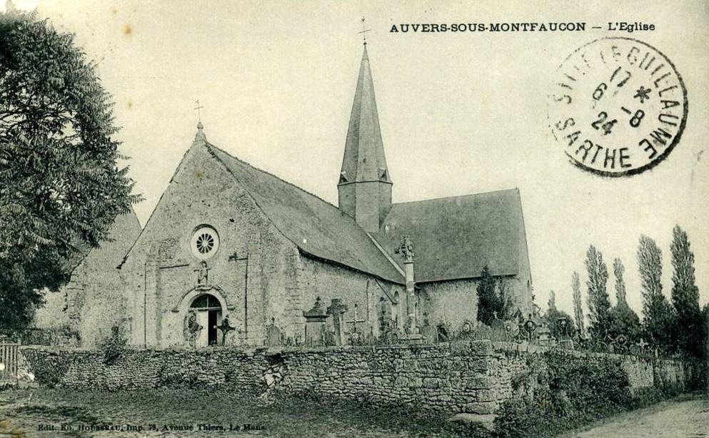 Auvers sous Montfaucon - L'Eglise