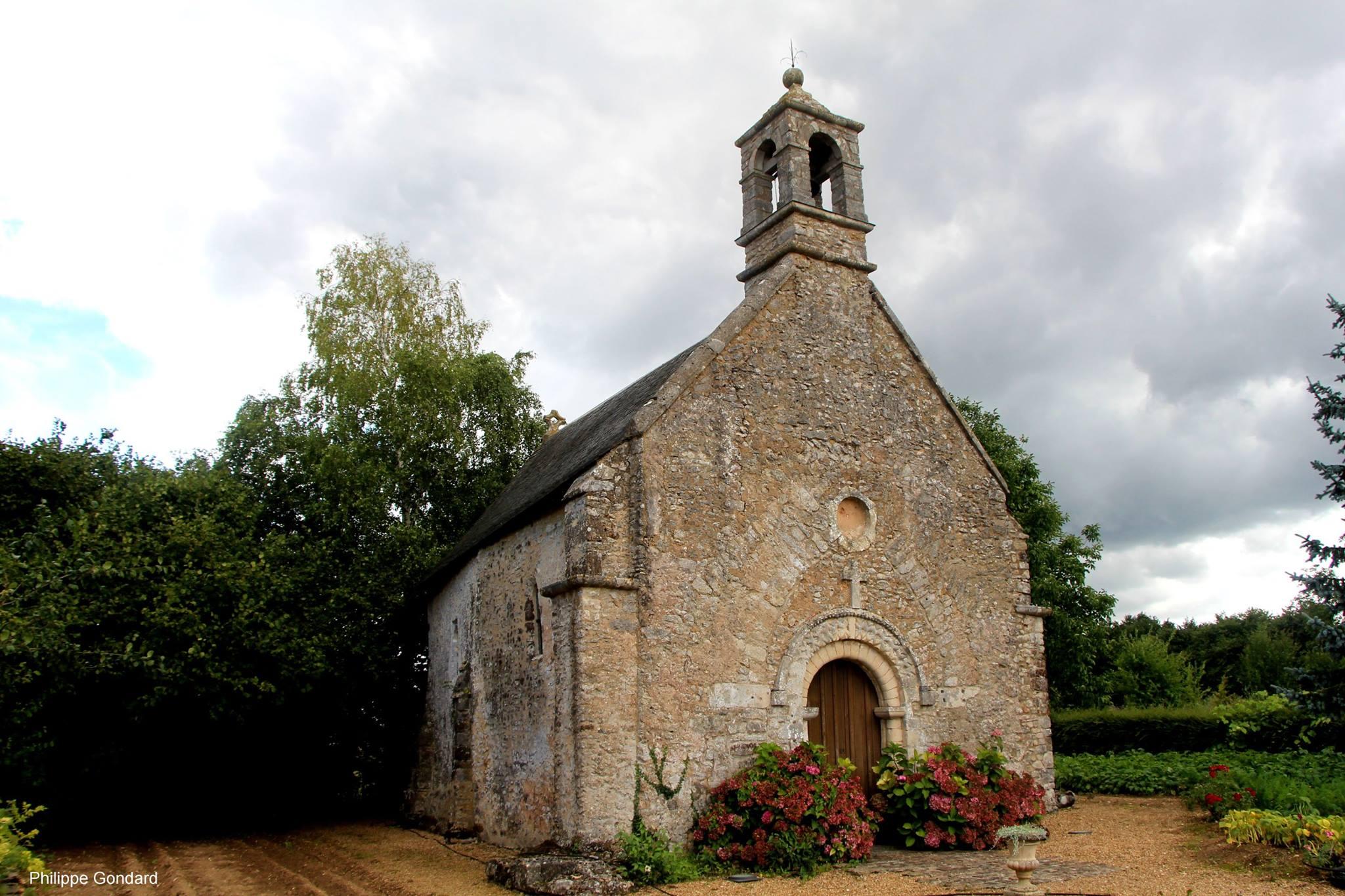 Conlie - Chapelle Saint Hilaire et Saint Eutrope de Verniette 03 (Philippe Gondard)