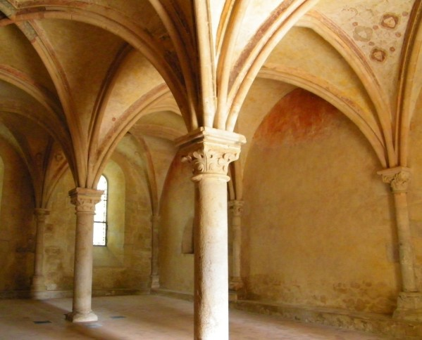Le Mans - Abbaye de l'Epau - La sacristie (Source Internet, The Baguette)