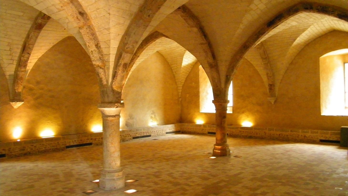 Le Mans - Abbaye de l'Epau - Le scriptorium (Source Internet, The Baguette)