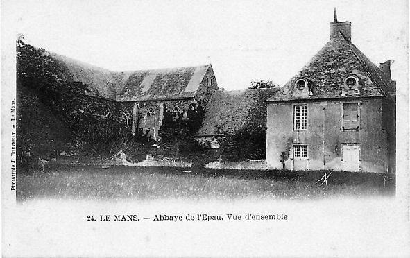 Le Mans - Abbaye de l'Epau - Vue d'ensemble