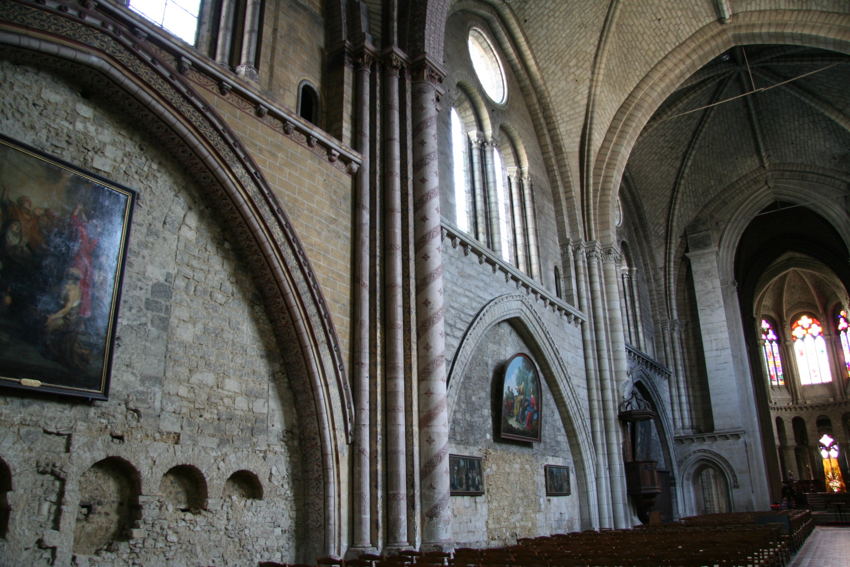 Le Mans - Eglise Notre Dame de la Couture 07