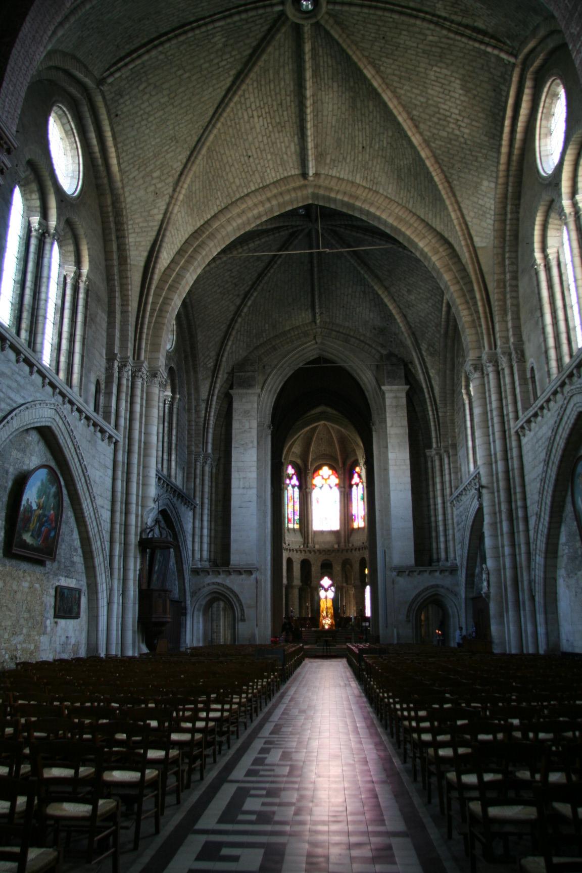Le Mans - Eglise Notre Dame de la Couture 08