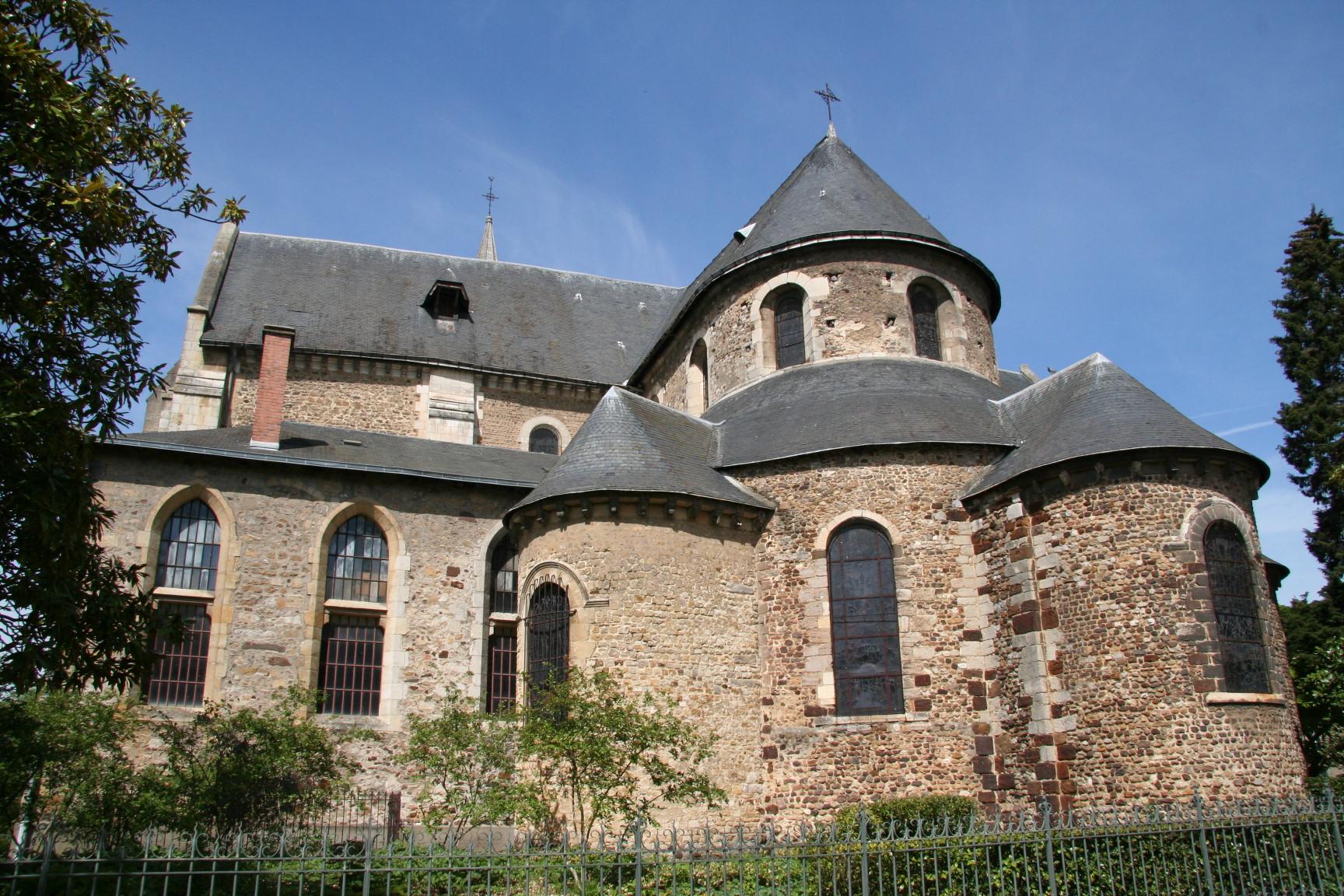 Le Mans - Eglise Notre Dame du Pré 04