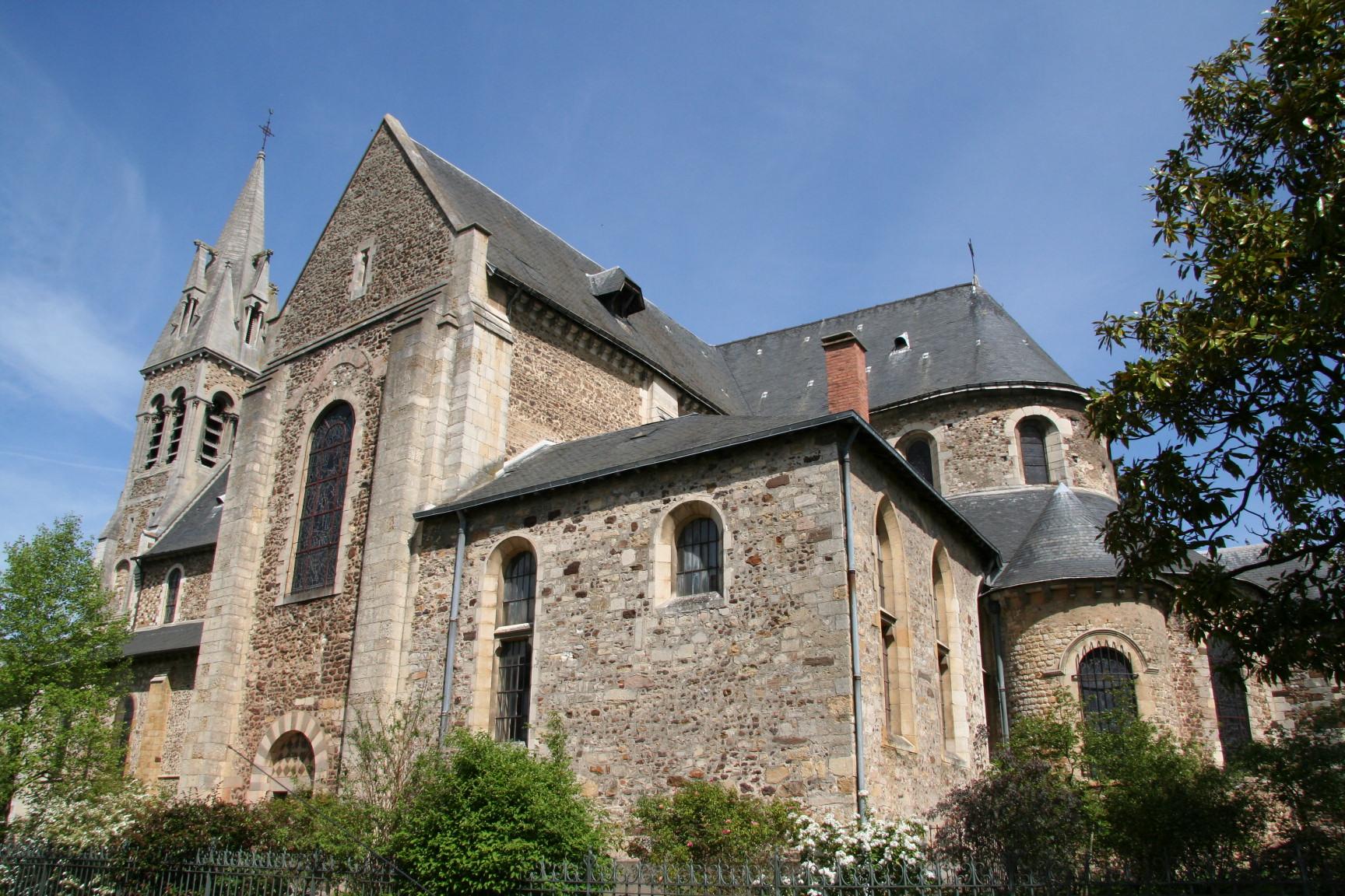 Le Mans - Eglise Notre Dame du Pré 05