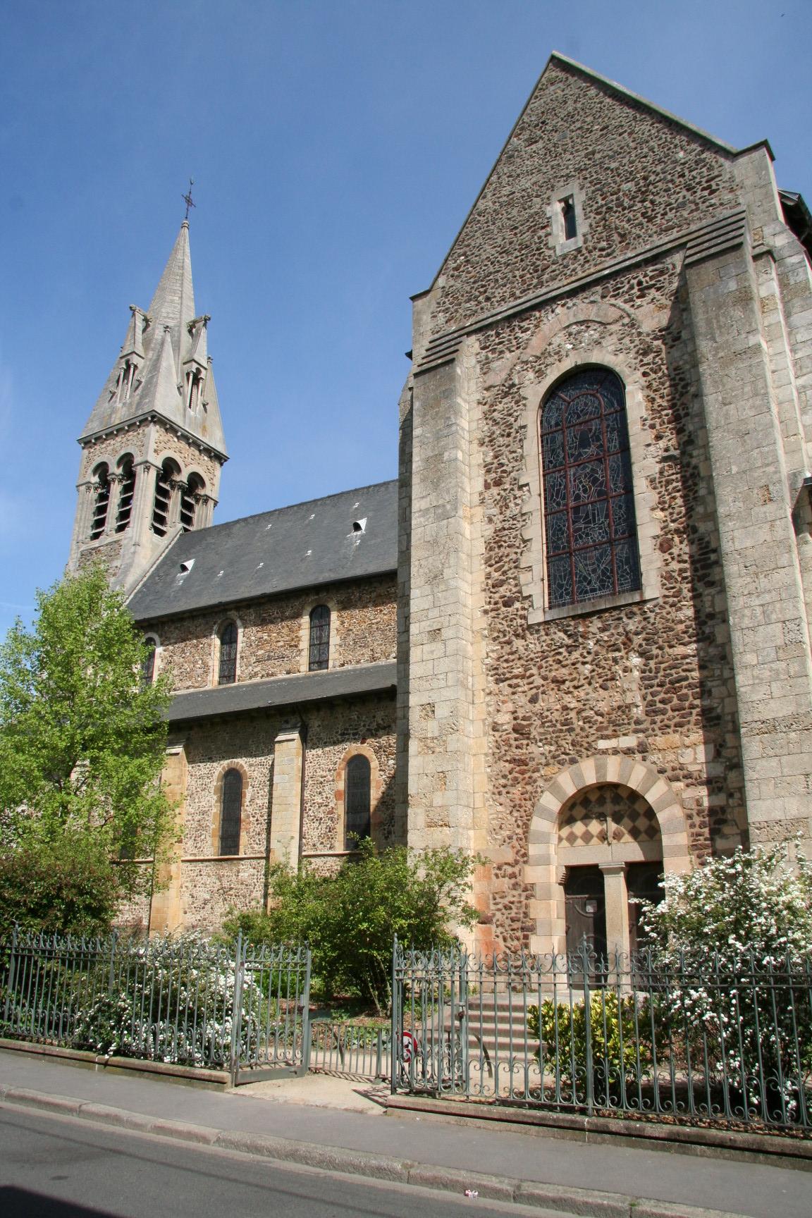 Le Mans - Eglise Notre Dame du Pré 06