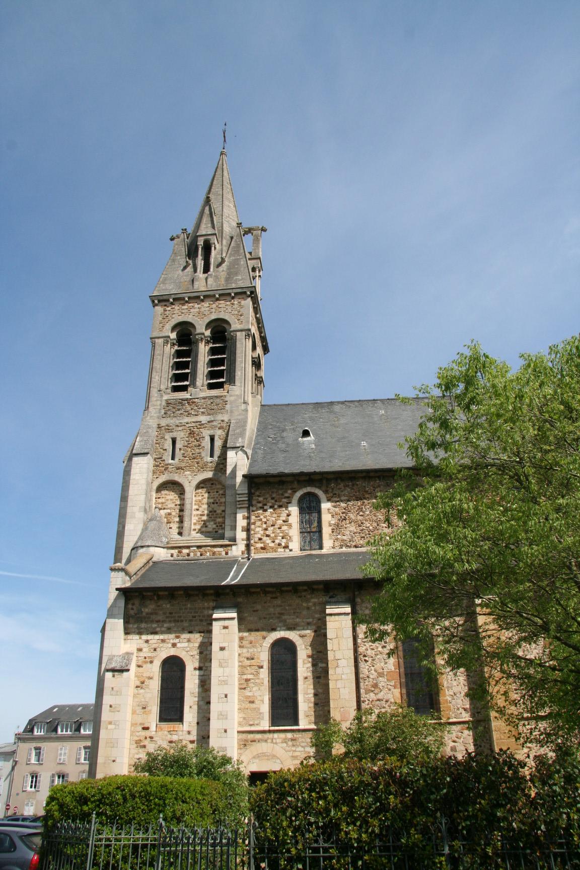 Le Mans - Eglise Notre Dame du Pré 07