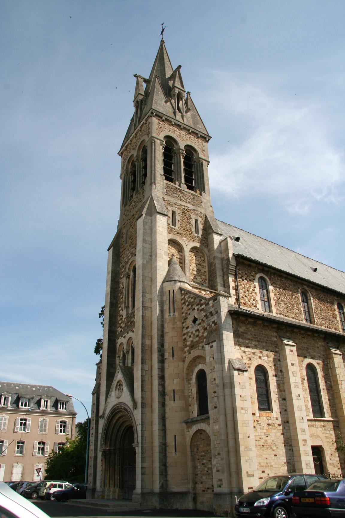 Le Mans - Eglise Notre Dame du Pré 08