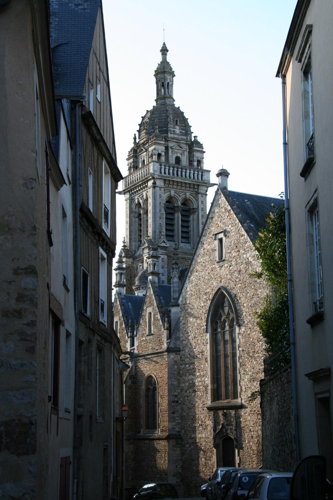 Le Mans - Eglise Saint Benoit 02