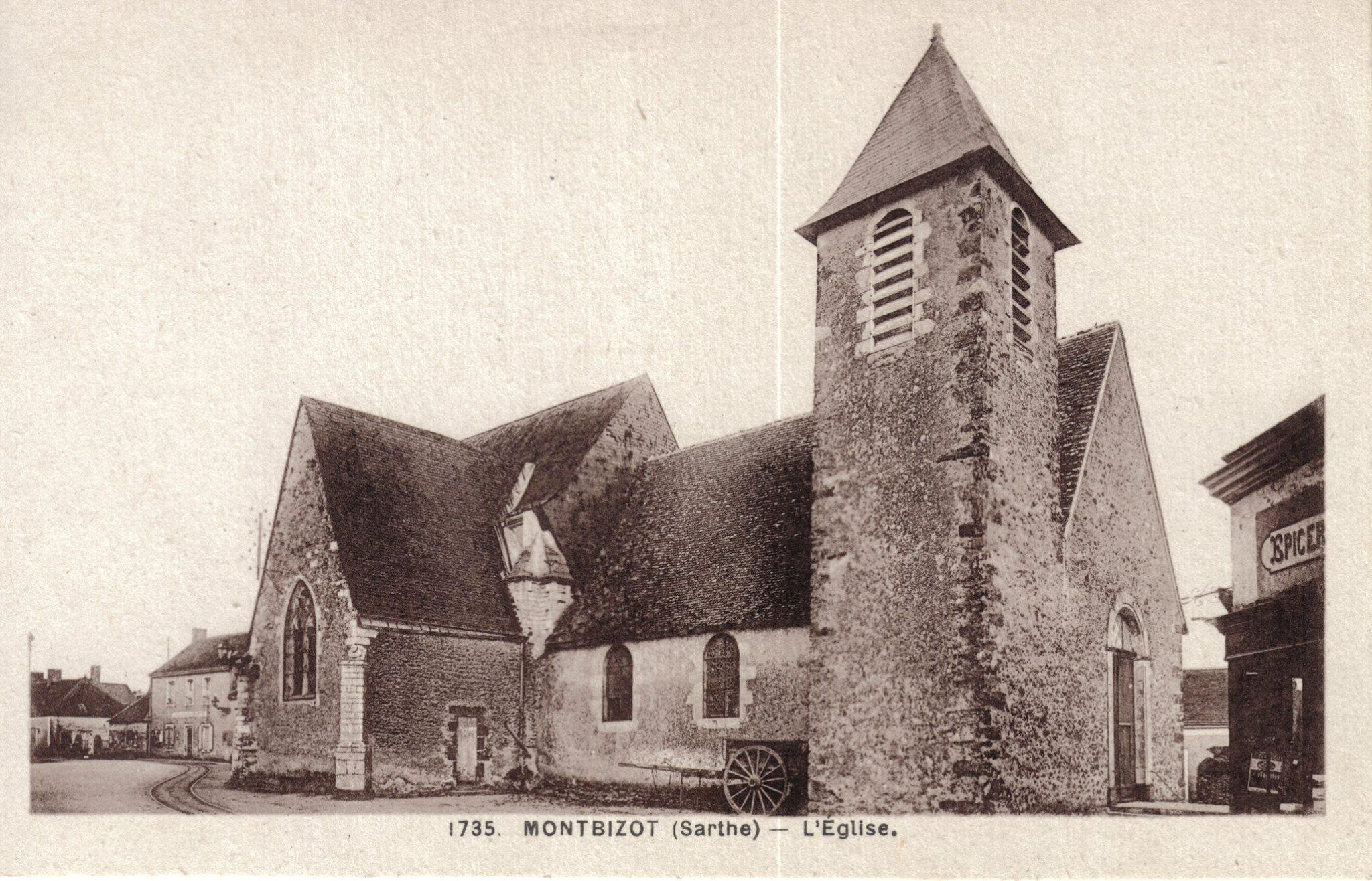 Montbizot - L'Eglise