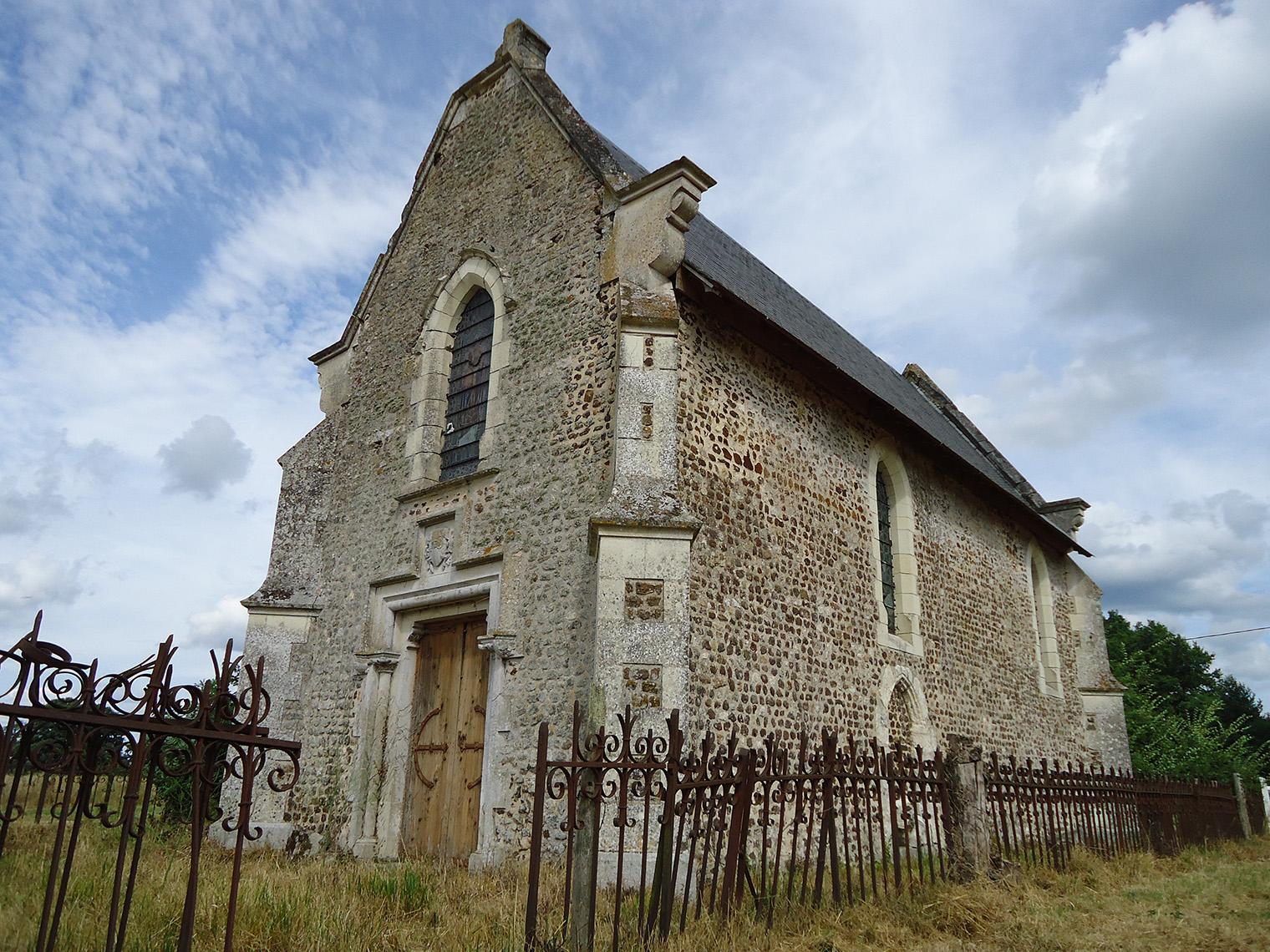 Roézé sur Sarthe - Chapelle Saint Martin (Source Internet, Gregofhuest)