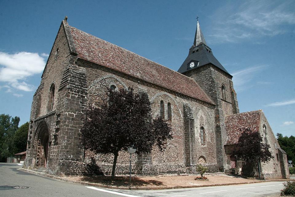 Saint Christophe du Jambet - Eglise Saint Christophe (Arcange Noire)