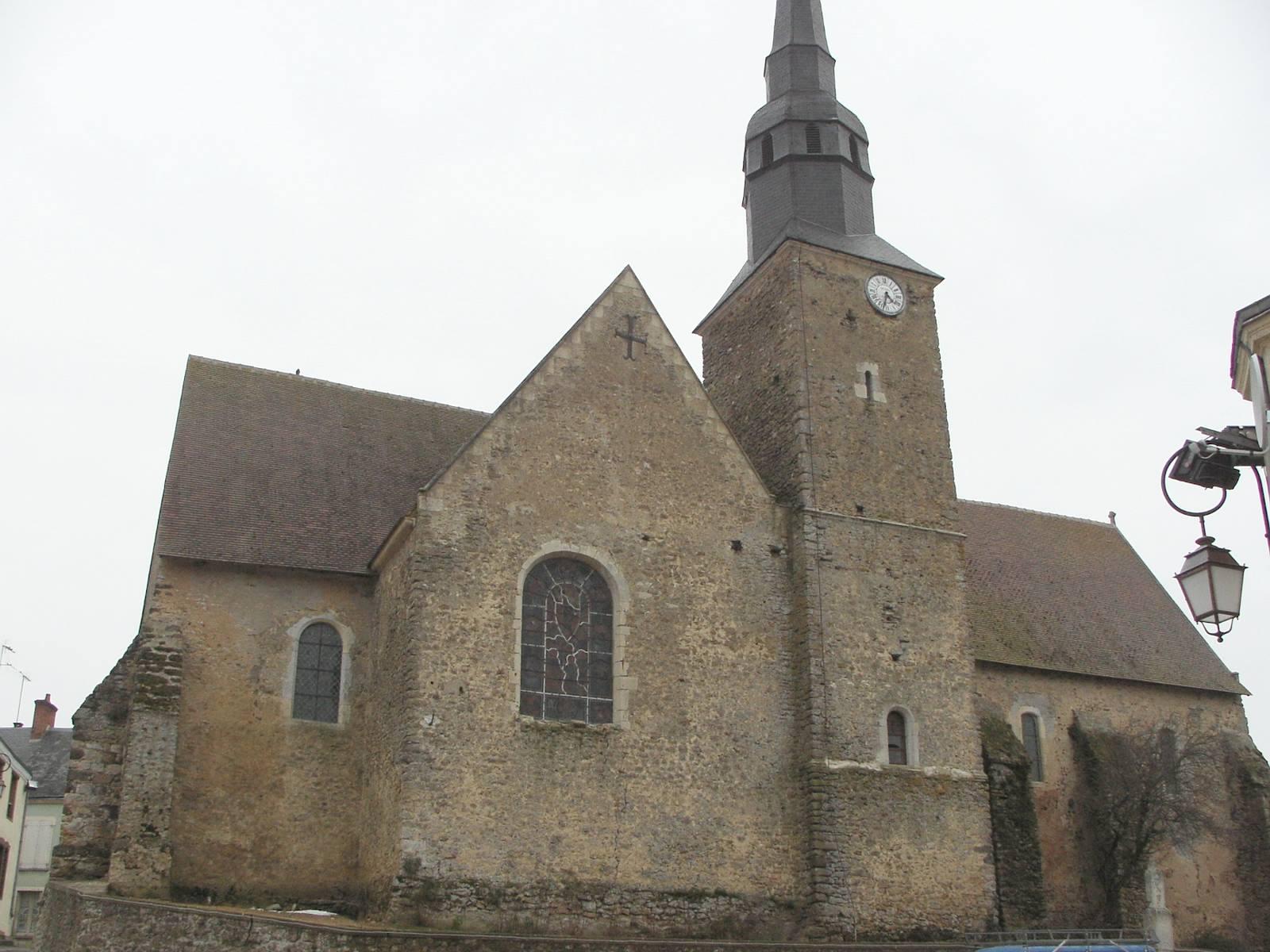Saint Michel de Chavaignes en 2005 - Eglise Saint Michel 01 (Menu Christophe dit Tahiti)