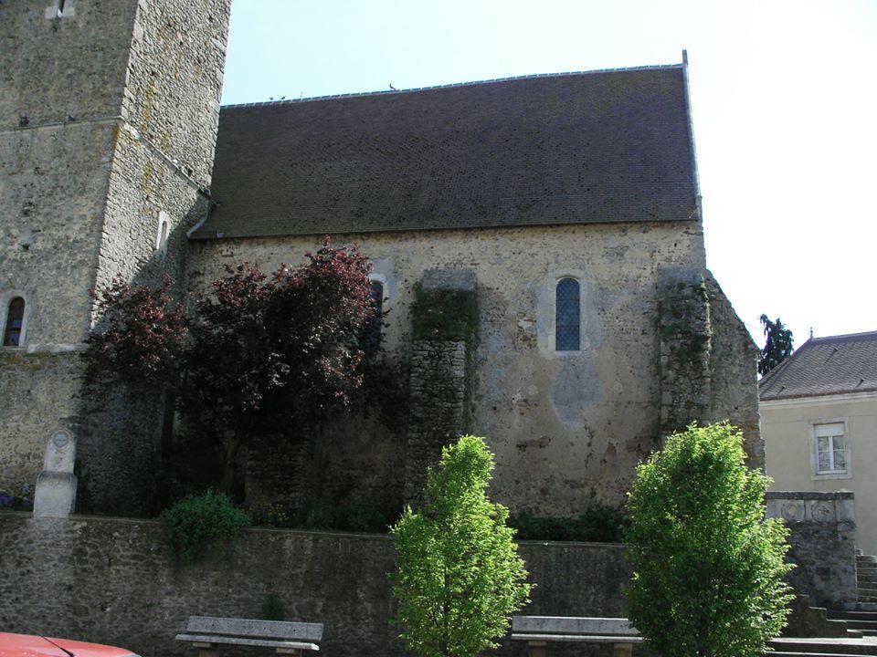 Saint Michel de Chavaignes en 2005 - Eglise Saint Michel 03 (Menu Christophe dit Tahiti)