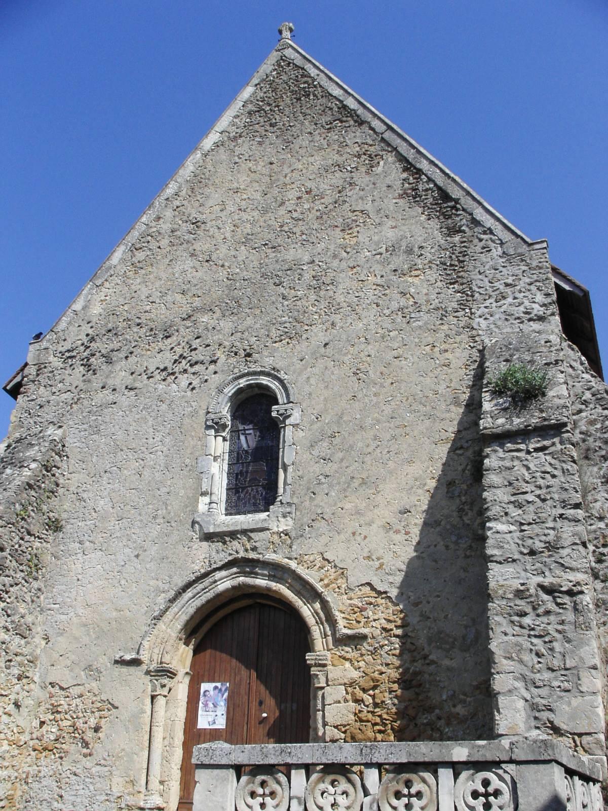Saint Michel de Chavaignes en 2005 - Eglise Saint Michel 05 (Menu Christophe dit Tahiti)