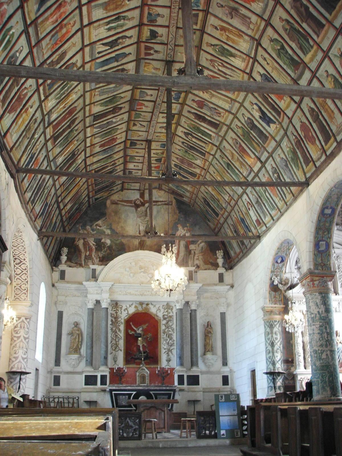 Saint Michel de Chavaignes en 2005 - Eglise Saint Michel 14 (Menu Christophe dit Tahiti)