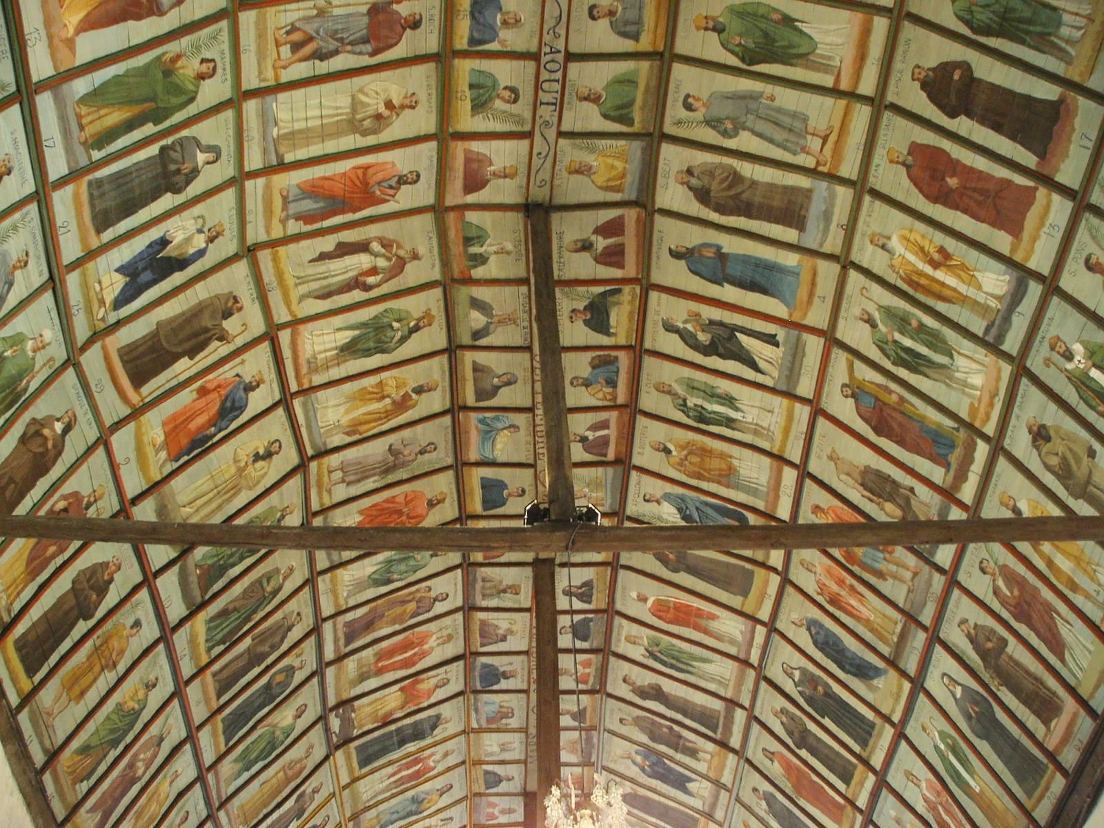 Saint Michel de Chavaignes en 2005 - Eglise Saint Michel 20 (Menu Christophe dit Tahiti)