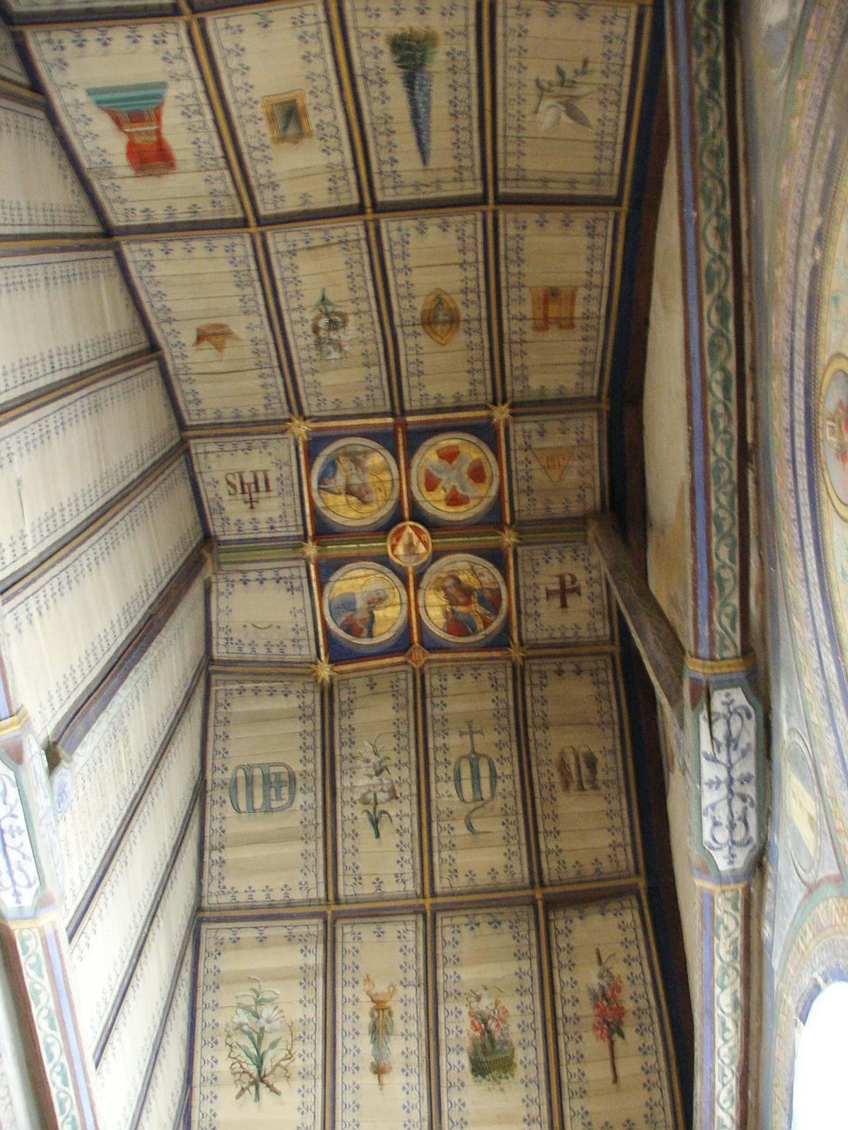 Saint Michel de Chavaignes en 2005 - Eglise Saint Michel 22 (Menu Christophe dit Tahiti)