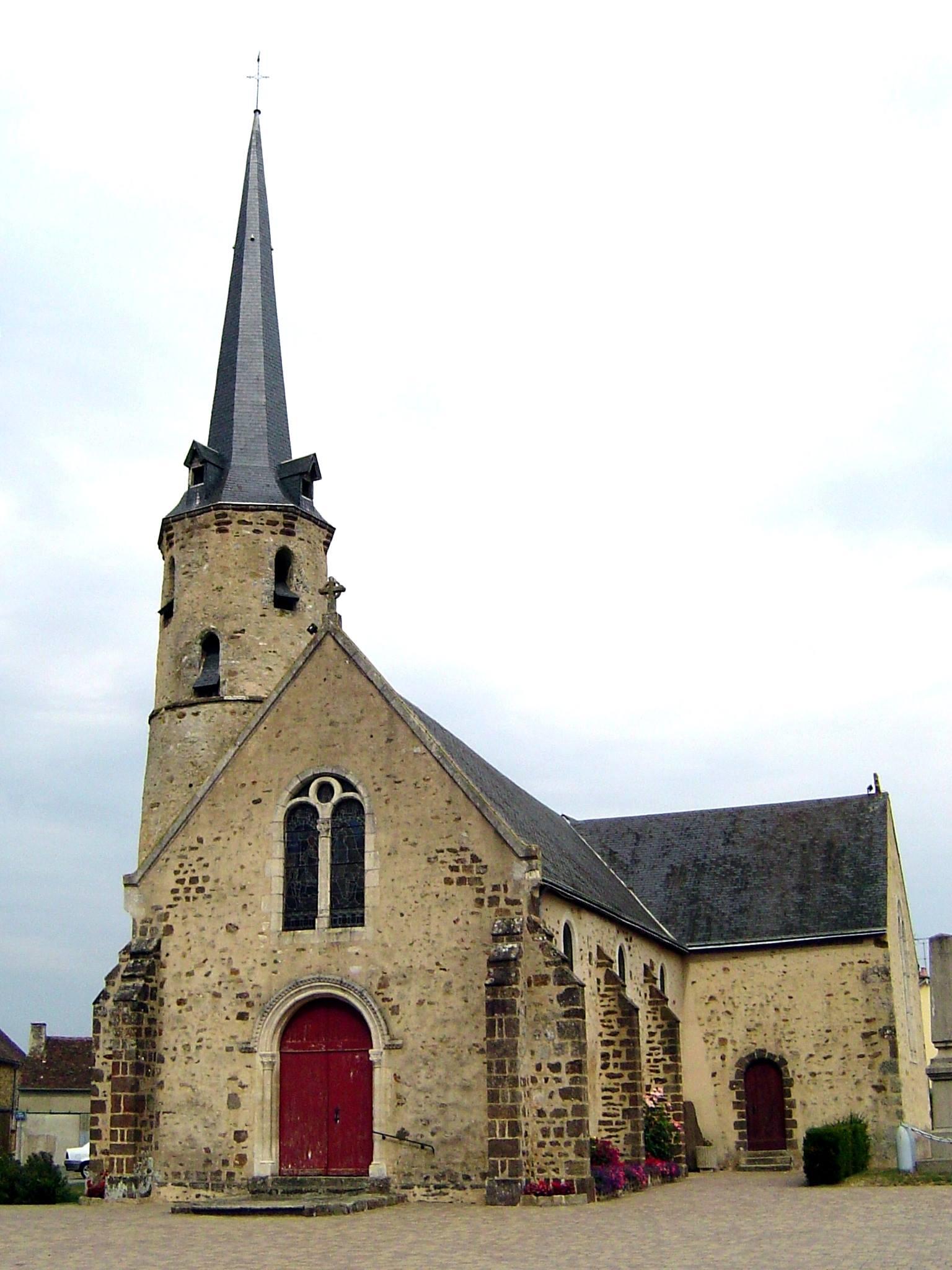 Saint Ouen de Mimbré - Eglise Sainte Avoye (Camille Chauvet)