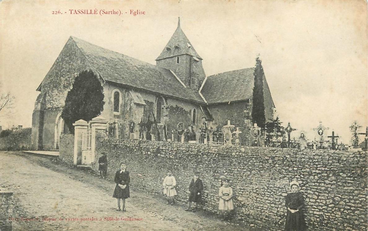 Tassillé - Eglise