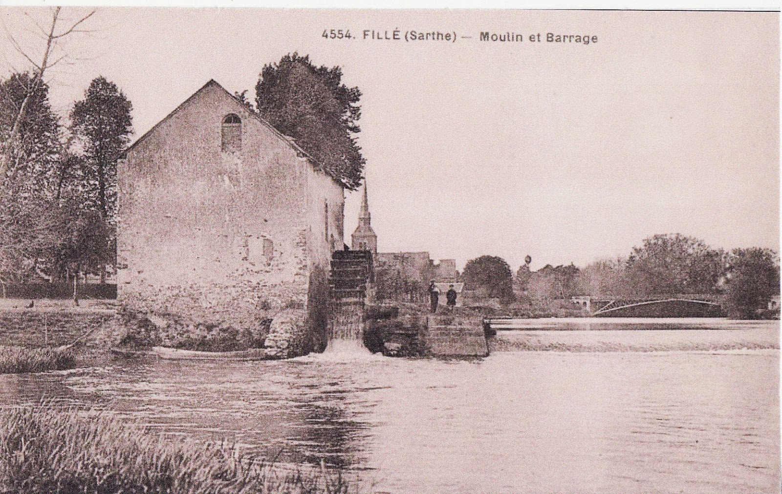 Fillé - Moulin et Barrage