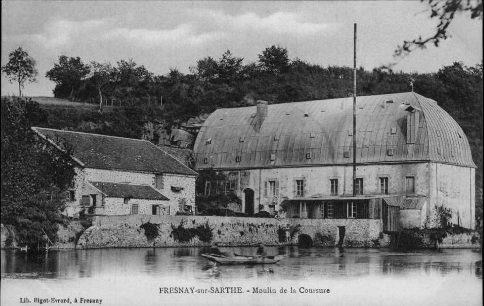 Fresnay sur Sarthe - Moulin de la Coursure