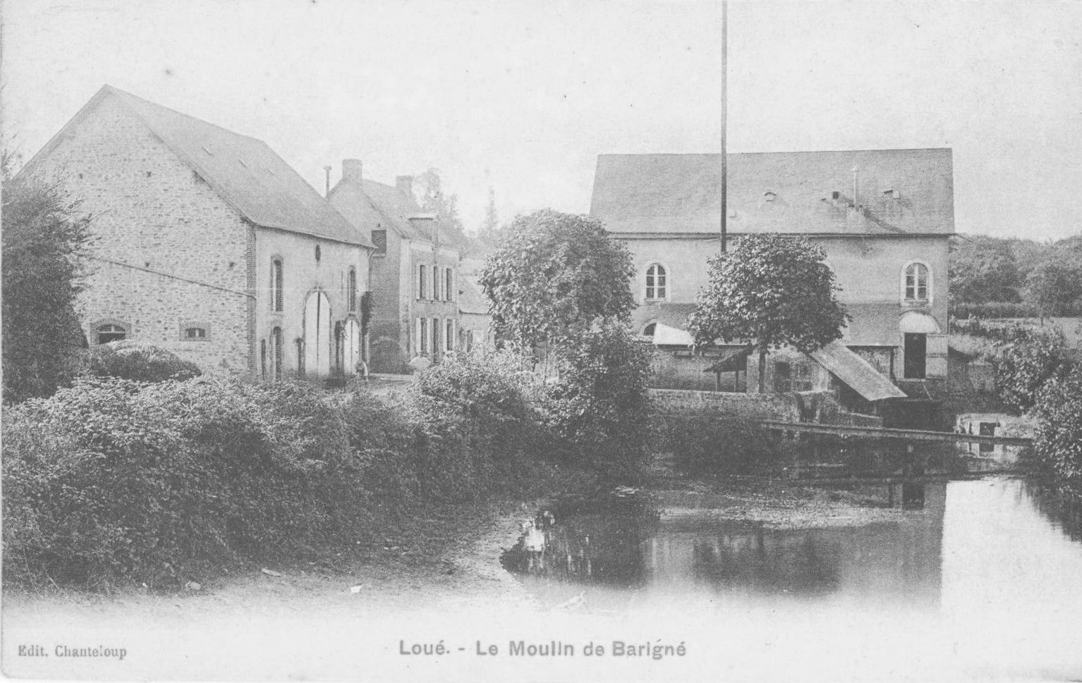 Loué - Le Moulin de Barigné