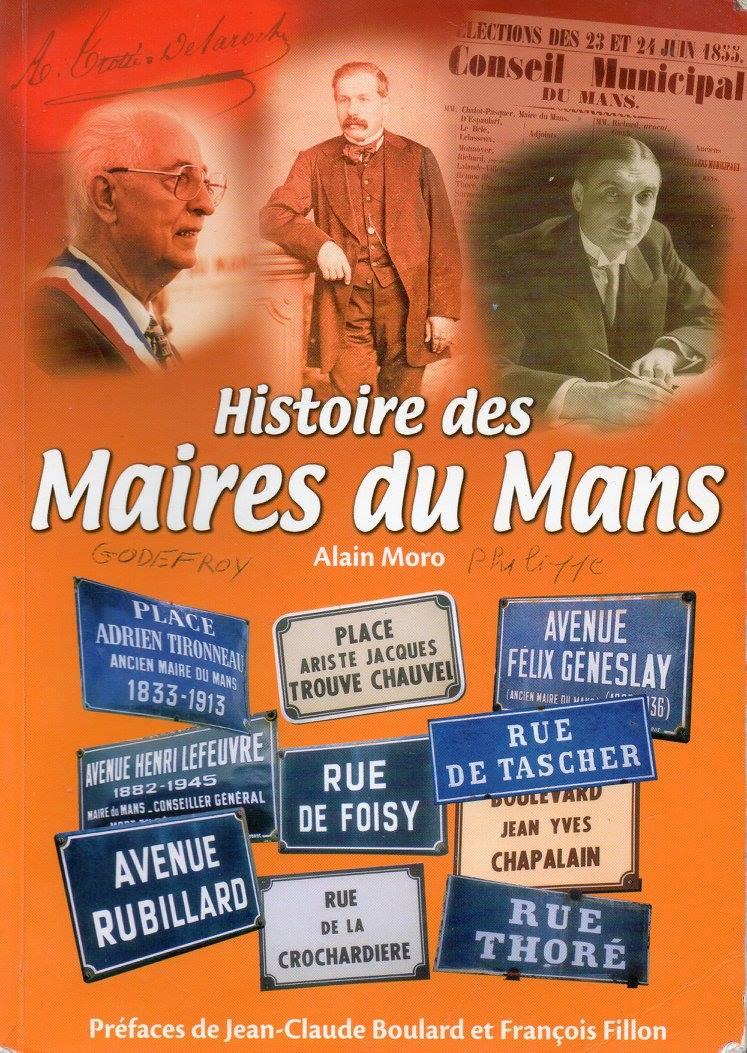 Livres - Histoire des Maires du Mans