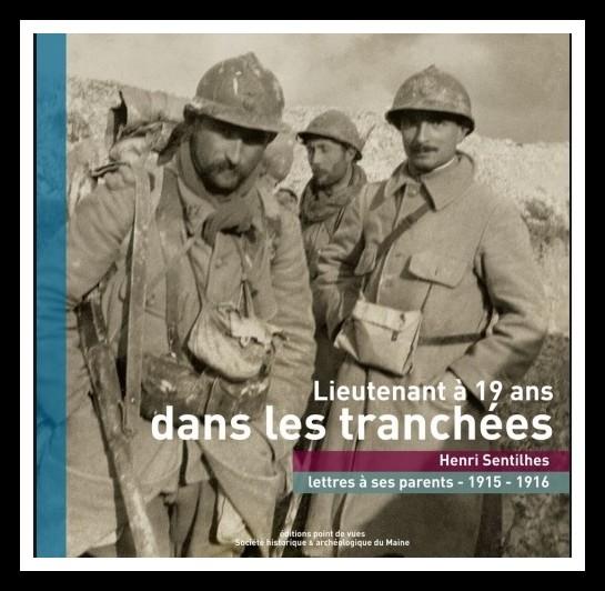 Livres - Lieutenant à 19 ans, dans les tranchées
