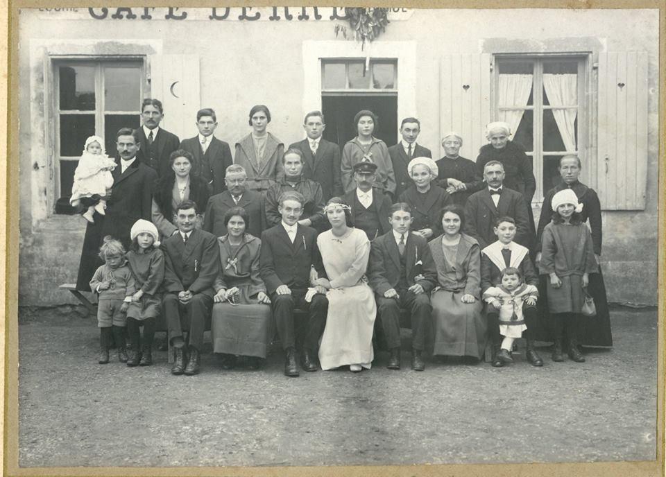 Ardenay sur Mérize - Mariage - GUILLIN André et DERRE Mathilde - Date inconnue (Christophe Menu dit Tahiti)