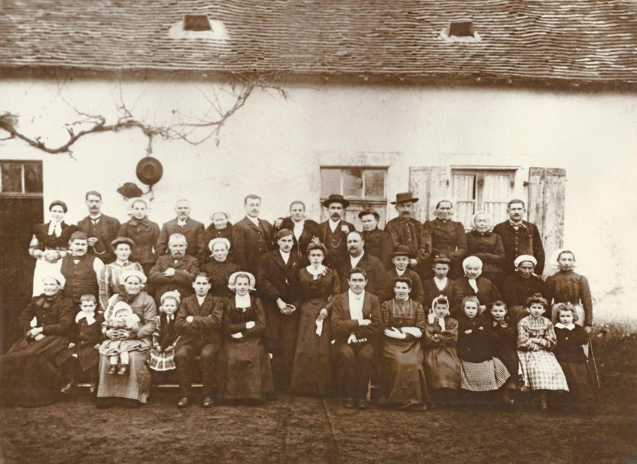 Ballon - Mariage - LEVEAU Eugène, Louis et JARDIN Marguerite, Louise - 23 janvier 1911 - Vue 01 (Evelyne Wilden)