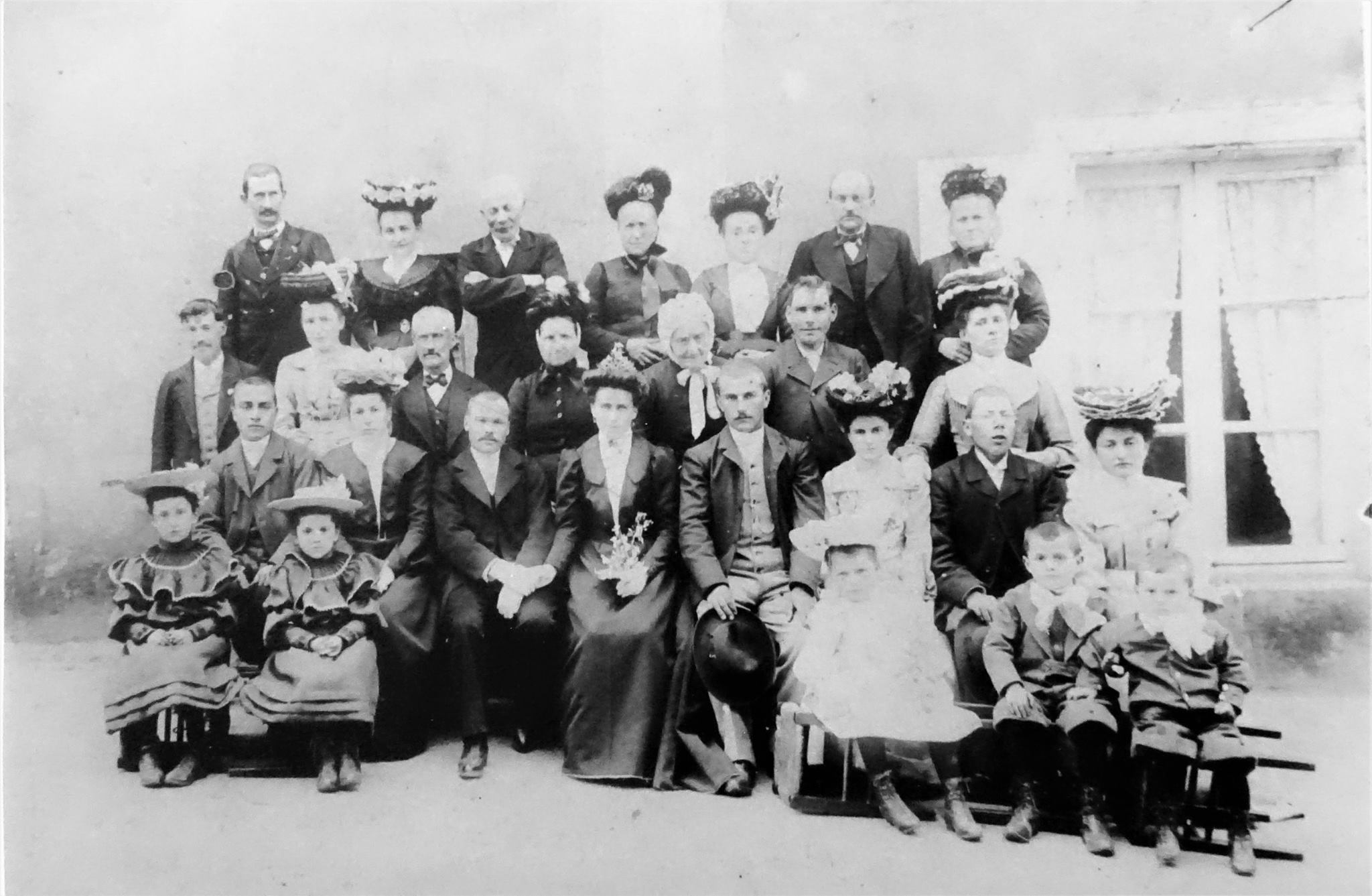 Chantenay - Mariage - SIMIER Pierre, Henri et BOUET Constance - 15 mai 1905 - Vue 01 (Marie-Yvonne Mersanne)