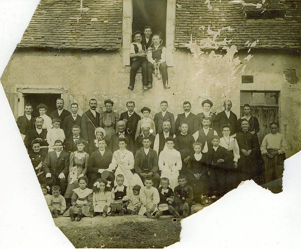 Sarcé - Mariage - MERSANT Alexandre et VERLYE Henriette - 5 septembre 1911 - Vue 01 (Gaston Beaumont)