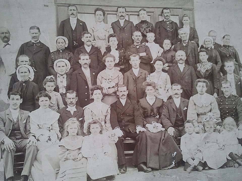 Tassillé - Mariage - DORE Ernest, Edouard et LEQUESME Joséphine - 3 juin 1904 - Vue 01 (Sylvie Leveau)