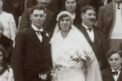Ardenay sur Mérize - Mariage - DERRE Raoul et MOUCHARD Cécile - 30 janvier 1937 (Christophe Menu dit Tahiti)
