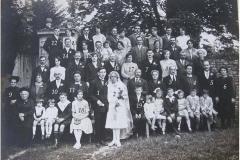 Auvers sous Montfaucon - Mariage - BERGER Louis et ALLAIN Isabelle - 7 Août 1929 (Sylvie Leveau)