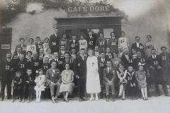 Auvers sous Montfaucon - Mariage - CHANTELOUP Paul et DORE Marthe - 19 Août 1929 - Vue 02 (Sylvie Leveau)