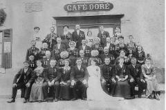Auvers sous Montfaucon - Mariage - FISSON Louis, Maxime et LEBRUN Nathalie - 23 Juin 1914 - Vue 02 (Sylvie Leveau)