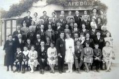 Auvers sous Montfaucon - Mariage - LEVEAU Gustave et DORE Berthe - 13 août 1928 - Vue 01 (Sylvie Leveau)